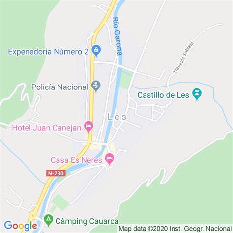 Código Postal de Les en Lleida   Codigopostalde.es