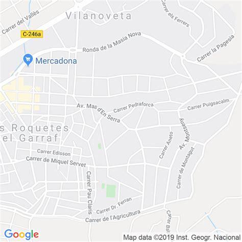 Código Postal de Mas D en Serra, El en Barcelona ...
