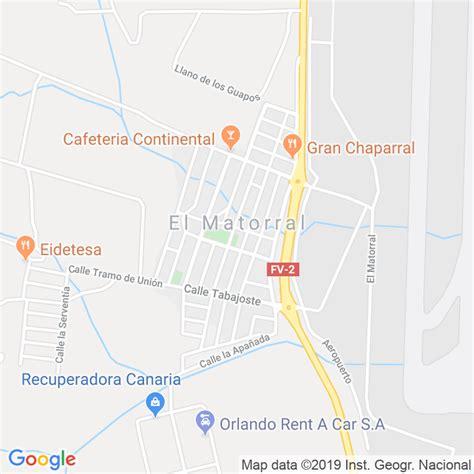 Código Postal de Matorral, El  Puerto Del Rosario  en Las ...