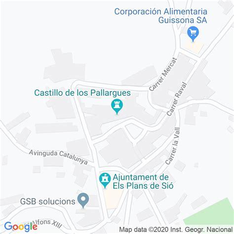 Código Postal de Pallargues, Les en Lleida   Codigopostalde.es