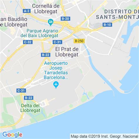 Código Postal de Prat De Llobregat, El en Barcelona ...