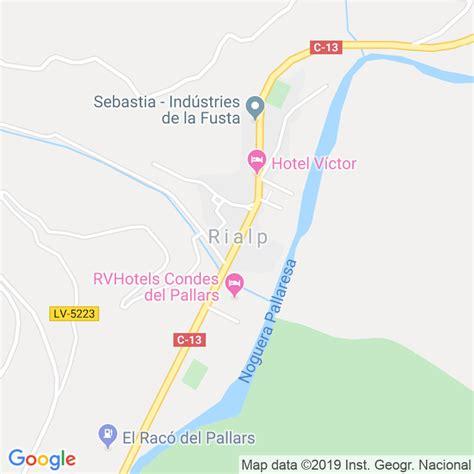 Código Postal de Rialp en Lleida   Codigopostalde.es