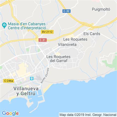 Código Postal de Roquetes, Les en Barcelona ...