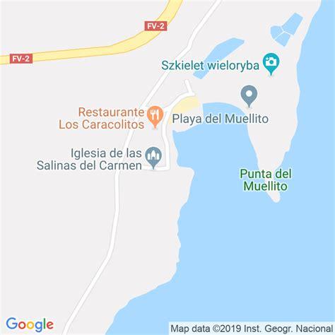 Código Postal de Salinas Del Carmen en Las Palmas ...