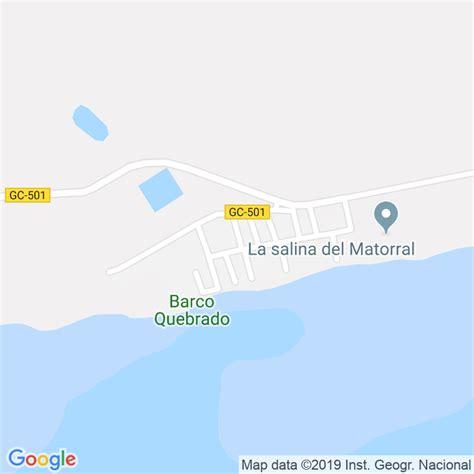 Código Postal de Salinas Del Matorral, Las en Las Palmas ...