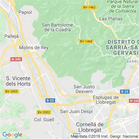 Código Postal de Sant Feliu De Llobregat en Barcelona ...