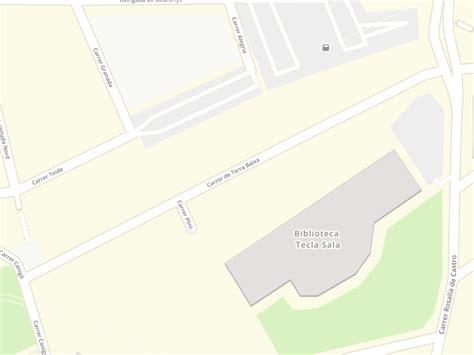 Código postal de Terra Baixa en L Hospitalet De Llobregat