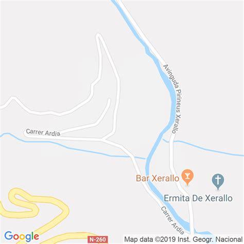 Código Postal de Xerallo en Lleida   Codigopostalde.es