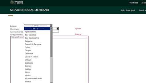 CÓDIGO POSTAL MEXICANO   Qué es, cuál es y cómo se busca