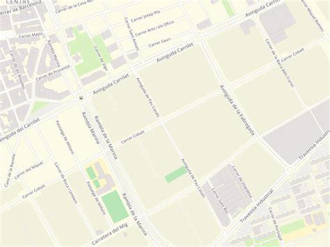 Códigos postales de Avenida Pau Casals en L Hospitalet De ...