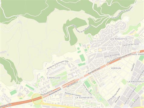Códigos postales de Carretera Alta De Les Roquetes en ...