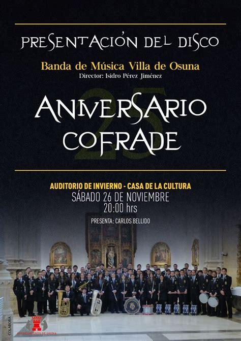 COFRADES DE ARAHAL: Presentación del nuevo disco de la ...