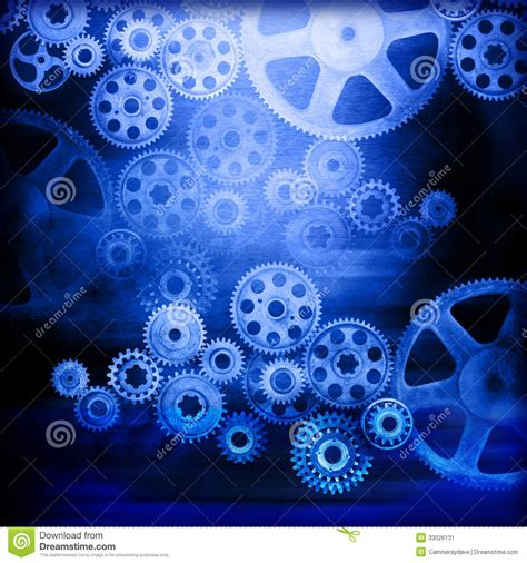 Cogs Gears Industrial Background Stock Illustration ...