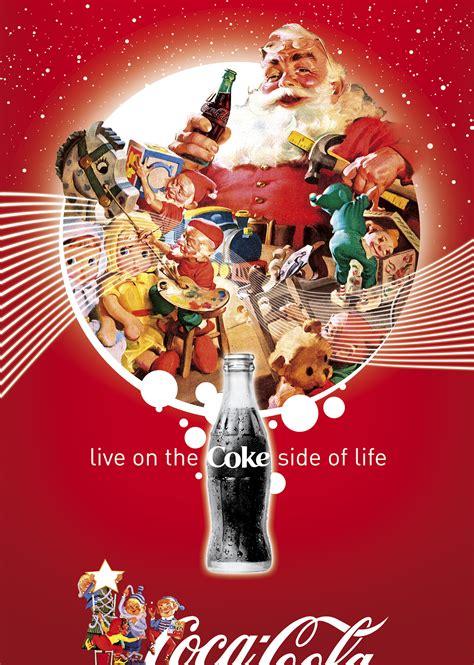 Coke Art: Coca Cola Christmas Art