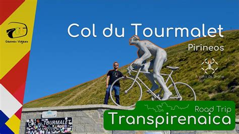 Col du Tourmalet a vista de Drone   4K   #RoadTrip # ...
