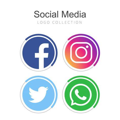Colección de logos de redes sociales populares | Descargar ...