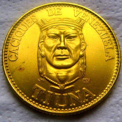 Colección de monedas de oro de Caciques de Venezuela ...