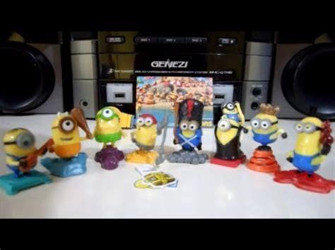 Coleccion Los Minions Kinder Sorpresa | Kinder Surprise ...
