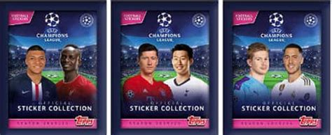 Colección UEFA Champions League 2019 2020 Cromos Stickers ...