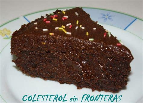 COLESTEROL SIN FRONTERAS: TARTA de CHOCOLATE sin HARINA ...