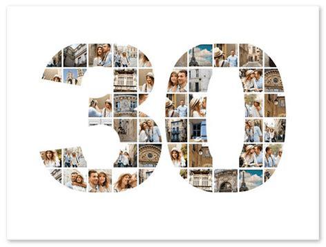 Collage con números  ¡Créalo ya con el número que desees ...