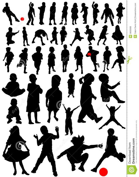 Collection of kids vector stock vector. Image of fondly ...