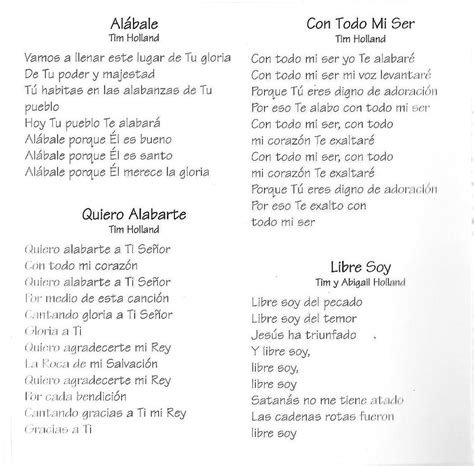 Collection of Lista De Alabanzas Cristianas Antiguas   Do ...