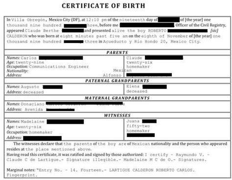colombian birth certificate in english | annaxin