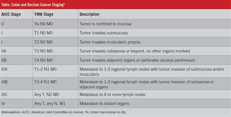 Colon and Rectal Cancer Staging   AJCC and TNM Stages # ...