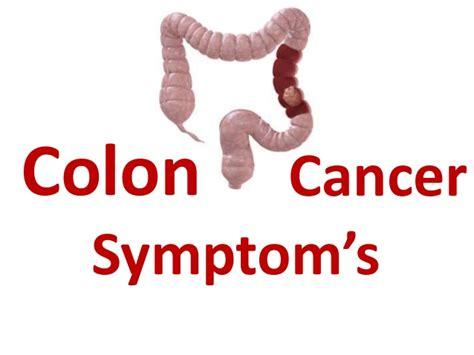 Colon Cancer Symptoms In Women