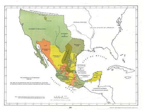Colonial Mexico 1519   1821 MexicanHistory.org Mexican ...