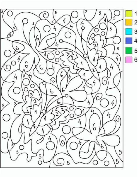 Coloreamos por números  con imágenes  | Colorear por ...