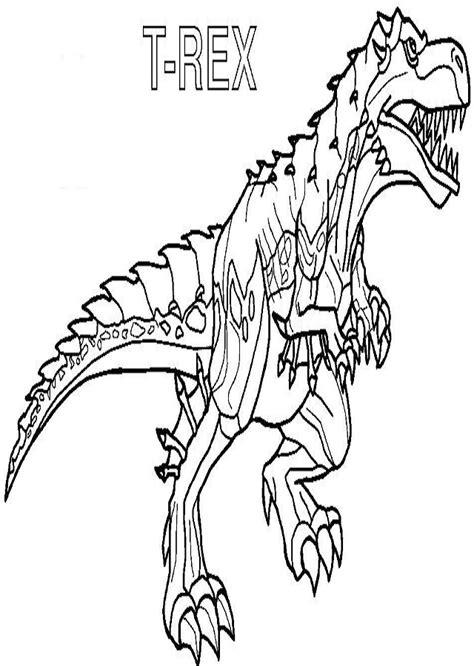 colorear dinosaurios dibujos para colorear de invizimals t ...