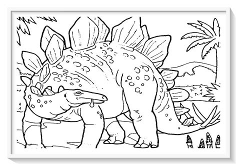 colorear dinosaurios online gratis –  Dibujo imágenes