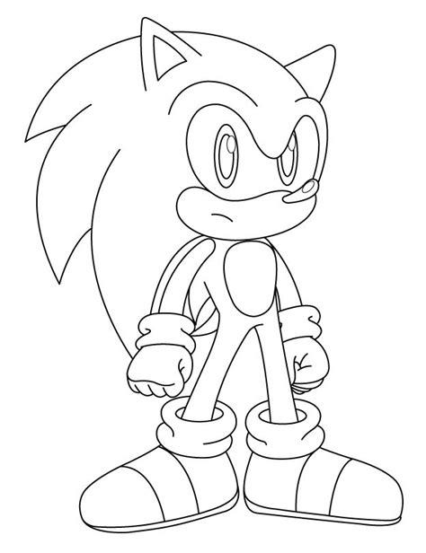 Colorear: El Erizo Azul   Juegos De Sonic Gratis Online ...