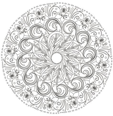 Colorear mandala difícil  Siddharta 10/50    Universo mandala
