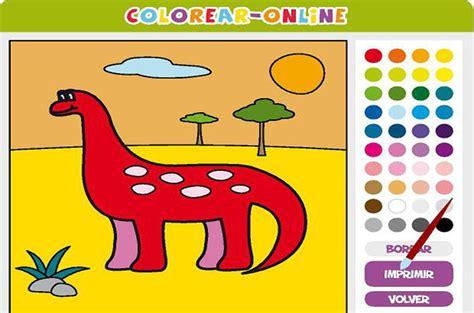 Colorear online, juegos educativos para niños