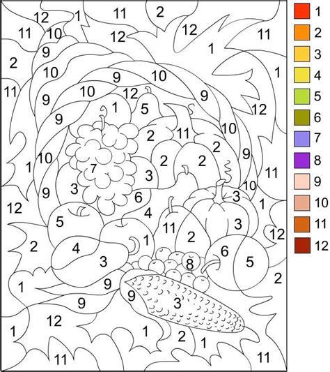 Colorear por numeros   Pintar por número, Libro de colores ...