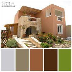 colores modernos para exteriores de casas en imagenes ...