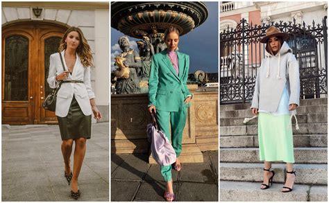 Colores que mejor combinan con el verde para la primavera 2019