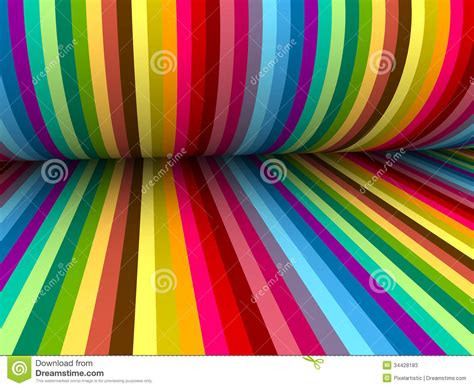 Colorful Abstract Lines For Background Stock Photos ...