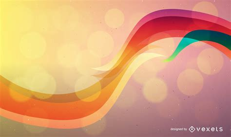 Colorful Abstract Vector Background   Vector download