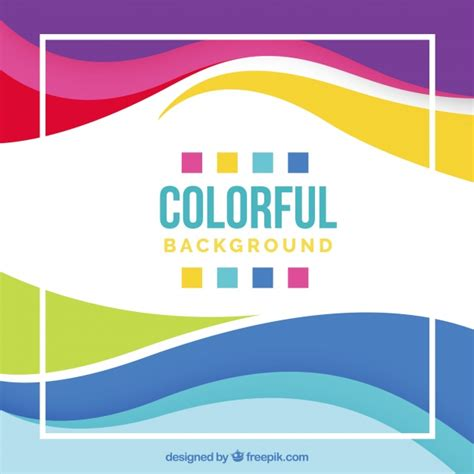 Colorful background design Vector | Free Download