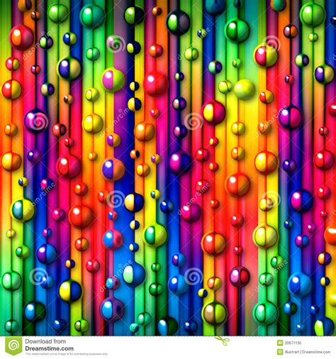 Colorful Bubbles Abstract Background Stock Illustration ...