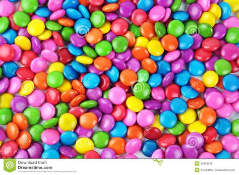 Colorful candy stock image. Image of brown, coated ...