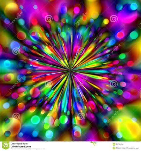 Colorful Fireworks stock illustration. Illustration of ...