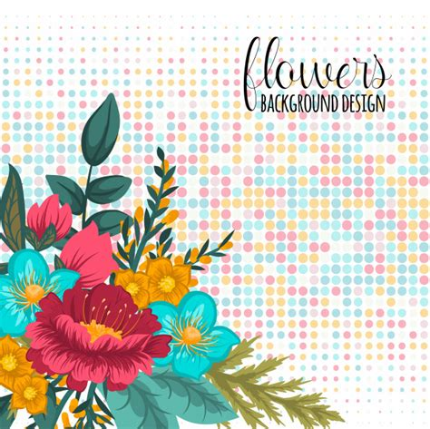 Colorful Flowers Vectors, Photos and PSD files | Free Download