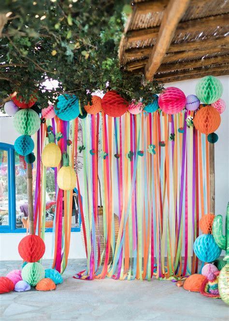 Colorful Pre Wedding Mexican Fiesta in Greece: Part 1 ...