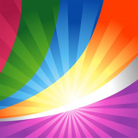 Colorful shiny background design Vector | Free Download