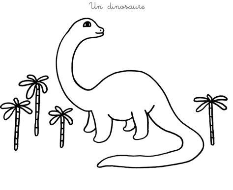 Coloriage à imprimer : Un dinosaure